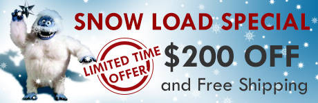 Snow Load Special - Limited Time Offer